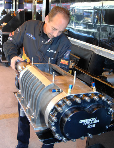 Troy Buff S Tasks Are Supercharger Maintenance Care And Mixing Of The 90 Nitromethane Fuel Parachute Ng
